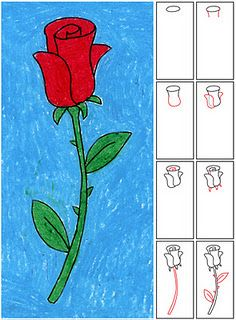 Art projects for kids k-5th - includes how to draw and information on different artist