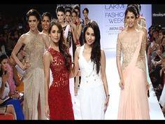 Malaika Arora Khan's SENSUAL ramp walk @ Lakme Fashion Week 2014.