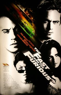 The Fast and Furious a film by Rob Cohen + MOVIES + Vin Diesel + Paul Walker + Michelle Rodriguez + Jordana Brewster + Rick Yune + Ja Rule + cinema + Action + Crime + Thriller Movies And Series, All Movies, Action Movies, Great Movies, Movies To Watch, Movies And Tv Shows, Awesome Movies, Action Film, Fast And Furious