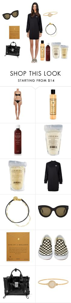 """""""Untitled #2504"""" by rine23 ❤ liked on Polyvore featuring Cosabella, Philip B, Fresh, adidas Originals, Zimmermann, CÉLINE, Dogeared, Vans, 3.1 Phillip Lim and Marc by Marc Jacobs"""