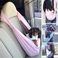 Jojoki chat chiens Carrier voyage sacs à bandoulière coton doux chiot animaux Cross Body sac messager transport Sling Satchel chien fournitures dans Paniers pour chien de Maison & Jardin sur AliExpress.com | Alibaba Group