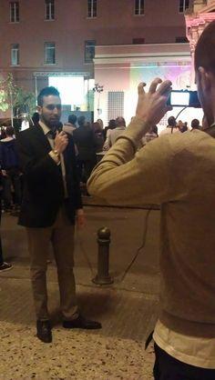 Inaugurazione di Total Free Tv con Rocco Pietropaolo e Achille Caricato