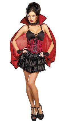 Halloween DEAD SEXY FEMALE VAMPIRE COSTUME - Cadılar Bayramı Kostümleri