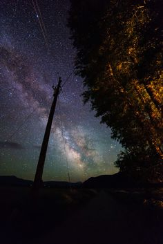 Milky Way during the summer in Grand Teton National Park near Jackson, WY