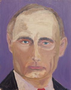 george w. bush exhibits 30 painted portraits of world leaders