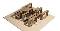 Architectural Concept Model  #conceptualarchitecturalmodels Pinned by www.modlar.com