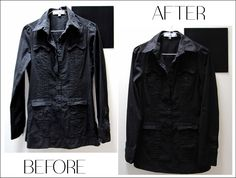 Back to school already? Fall is coming so get your warmer jacket fall-ready with Fall Is Coming, Sewing Class, Fall Jackets, Leather Jacket, School, Black, Fashion, Studded Leather Jacket, Moda