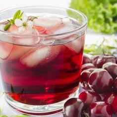 #drink #juice #cherry #cooled #ice