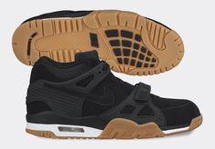 #Nike Air Trainer III Black/Gum #sneakers
