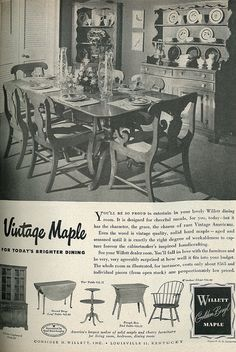Dining | Mid Century Home Decor | Pinterest | Early American, Vintage  Furniture And Mid Century