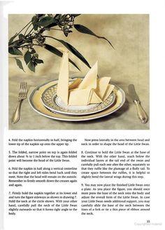 Swan Napkin Fold