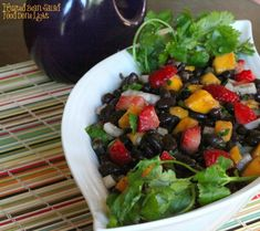 Fruited Black Bean Salad - Food Done Light!