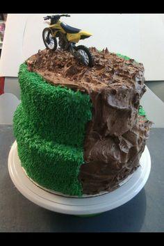 Dirt bike cake made by Melanie Harris My Creations ...