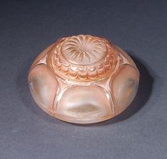 Lalique Nenuphar inkwell