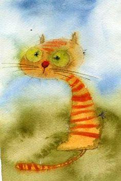 Пучеглазый (Виктория Кирдий). Join cat lovers: http://OzziCat.com.au
