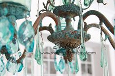 Mason jar Candelier Reveal, A French Buffet and More.....