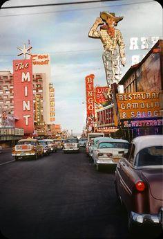 Fremont Street, Las Vegas  — 1958 | by ElectroSpark