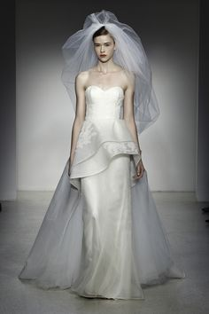 Amsale Fall 2013 Bridal Collection.