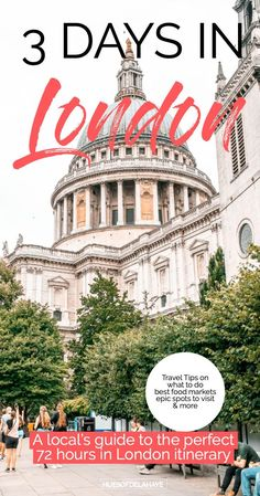 This 3 days in London itinerary is filled the best things to do in London like seeing Big Ben, London Bridge, The Shard, London towers and more London bucket lists activities. This London itinerary is ideal for first time visitors to the UK's capital Mykonos, Santorini, Backpacking Europe, Europe Travel Tips, European Travel, Travel Destinations, Travel Goals, Travel Hacks, Holiday Destinations
