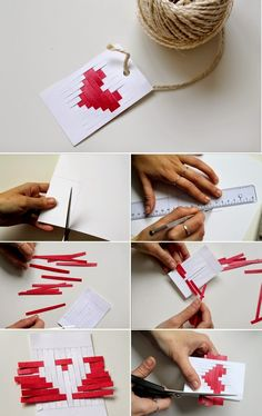 DIY - The Valentine 's Day Candy - Geschenkartikel - Saint Valentin Valentines Bricolage, Valentines Diy, Pinterest Valentines, Diy Origami, Kids Crafts, Diy And Crafts, Saint Valentin Diy, Tarjetas Diy, Saint Valentine