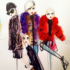 11 fashion illustrators to follow on Instagram now, just in time for #NYFW