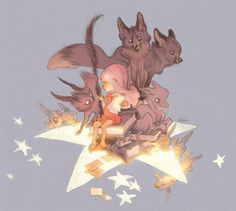 Art by Claire Wendling* Blog/Website | (www.claire-wendling.net) ★ || CHARACTER DESIGN REFERENCES | マンガの描き方 • Find more artworks at https://www.facebook.com/CharacterDesignReferences  http://www.pinterest.com/characterdesigh and learn how to draw: #concept #art #animation #anime #comics || ★