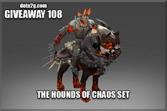 Giveaway 108 - The Hounds of Chaos Set