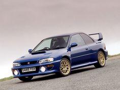 Subaru Impreza 22B-STi – simple and clean