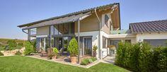 Kundenhaus Niederhofer - ein Traum von einem Sonnleitner-Holzhaus - Bauen Sie Ihr Holzhaus, Passivhaus, Plusenergiehaus mit Sonnleitner