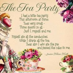 really a shame the tea party has ruined my love of tea parties