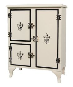 """This Victorian-Style Icebox for 18"""" Dolls is perfect! #zulilyfinds"""