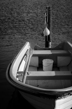 Boat shot BW by LudwigSpove