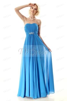 I think this would make a nice bridesmaid dress    Gorgeous A-Line Strapless Floor-Length Nastye's Prom/Homecoming Dress