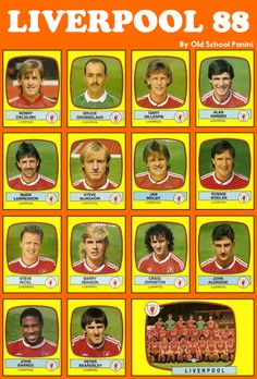 Liverpool FC 1988 - #Liverpool FC #Quiz  - #The Reds