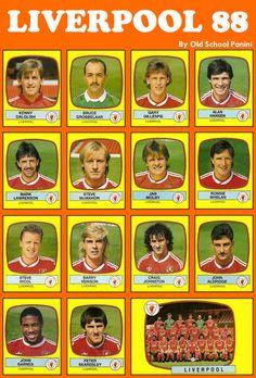 #Figuritas Liverpool FC 1988