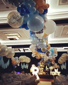 One of the biggest jobs we've done. Proud to be apart of it. Concept design/ Planning @dianekhouryweddingsandevents | balloons @floating.designs | flowers @crazyaboutflowers | decor hire @harboursidedecorators | letter lights @thebigbrightletterco | cake table /plinths @partyatmosphere | cake @sweetbloomcakes | stationery @dianekhouryweddingsandevents | macaroons @onebitemacarons #dianekhouryweddingsandevents…