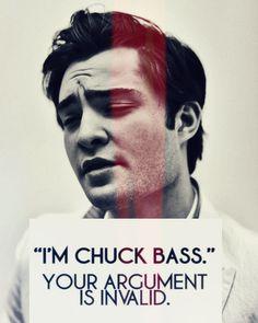 Chuck Bass- Gossip Girl