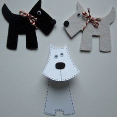 After School Craft Club | Scotty Dogs by Silly Lily | Project | Papercraft | Jewelry / Accessories | Kollabora