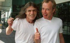 Malcolm Young, chitarra degli AC/DC lascia il gruppo #ac/dc #malcolmyoung #angusyoung