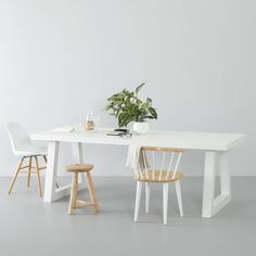 whkmp's own eetkamertafel Bronx ( 220 cm) wit Dinner Table, Home Kitchens, New Homes, Dining, Living Room, Modern, House, Furniture, Home Decor