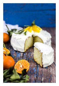 Ricotta & tangerine cake