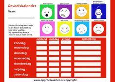de gevoelskalender Coaching, Emoticon, Training, Feelings, Kids, Seo, Psychology, Smiley, Young Children