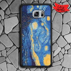 Night Star Samsung Galaxy S6 Edge Plus Black Case