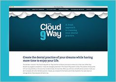 Website design by Think Baseline: The Cloud 9 Way #website #design #webdesign #graphicdesign #interactive