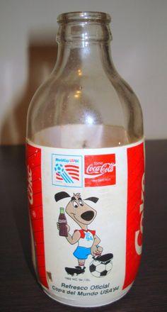 Bottle Coca Cola Venezuela 250 ml World Cup USA 94 United States Soda Coke | eBay