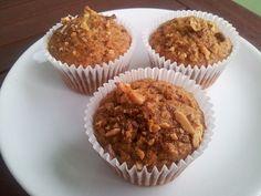 Vypečený den: Mrkvové muffiny - The daring bakers challenge