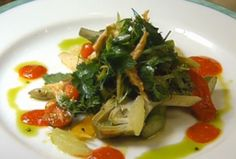 salad of asparagus by Daniel Boulud