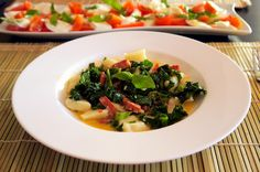 Home-Made Gnocchi with Chorizo and Kale