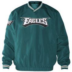1cc13b19e1b Philadelphia Eagles Stop and Go Cross Over Crew Sweatshirt - Green New  England Patriots Sweatshirt