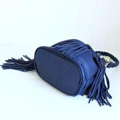 Leather fringe bag / boho bag / Leather fringe purse от Adeleshop